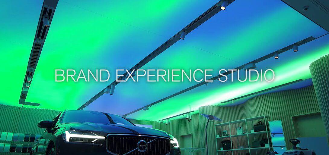Volvo Studio Aoyama ショールームムービー