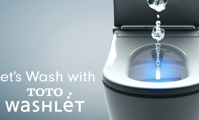 Let's WASH with TOTOWASHLET コンセプトムービー